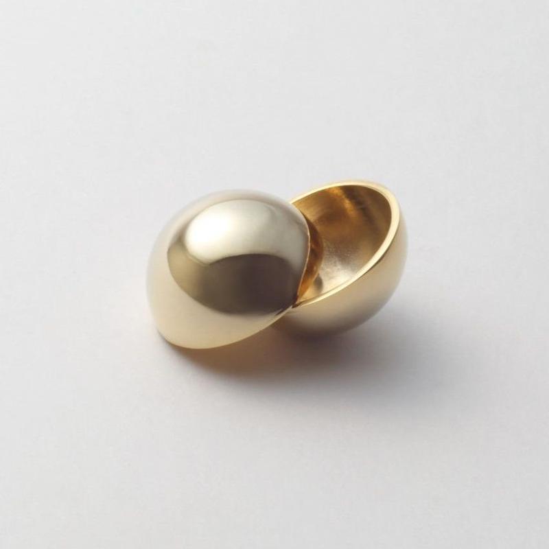 25mm sphere pierce (gold)