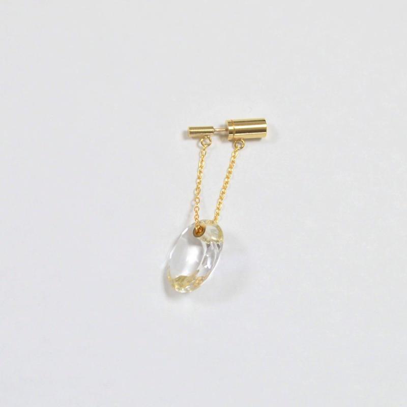 Sun Catcher pierce ( oval / vertical / short )