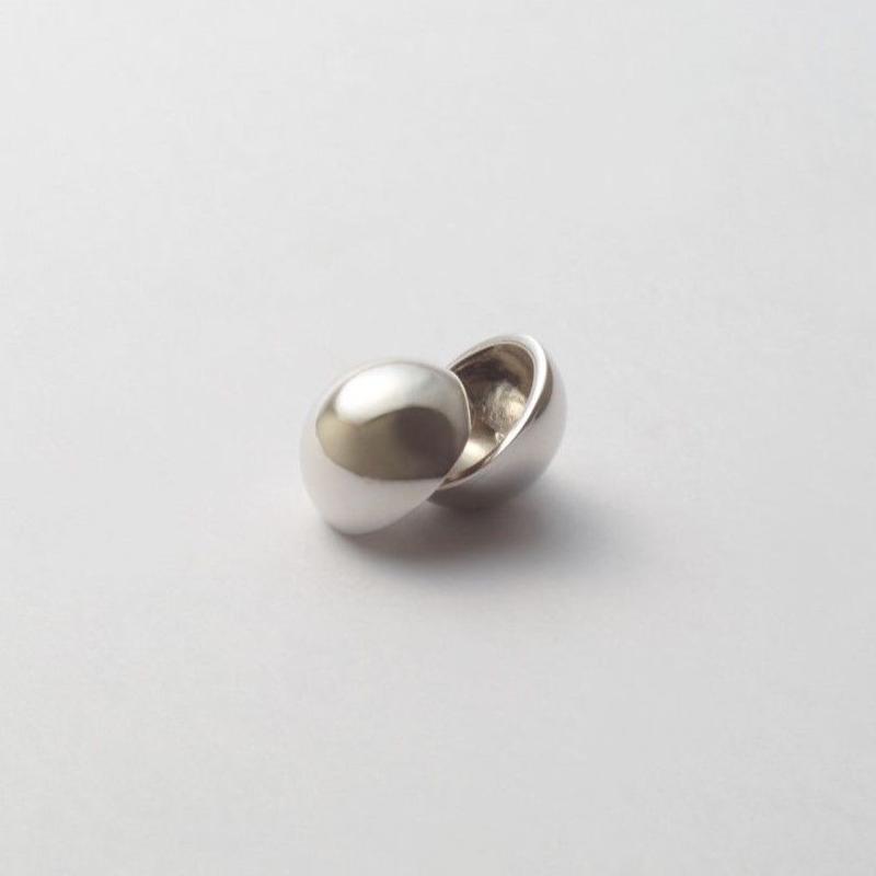 16mm sphere pierce (silver)