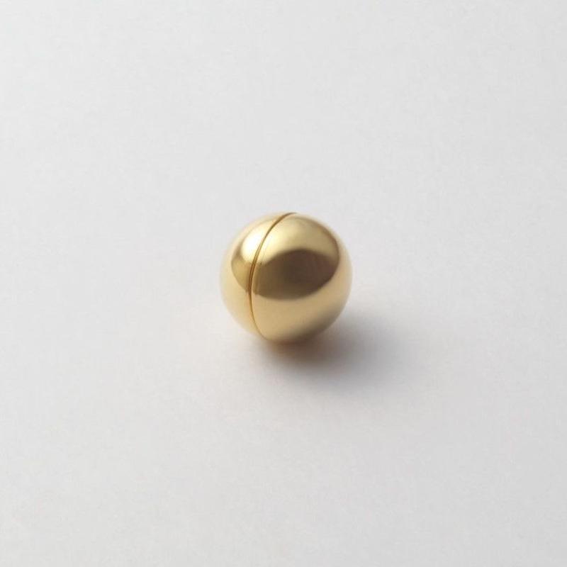 16mm sphere pierce (gold)
