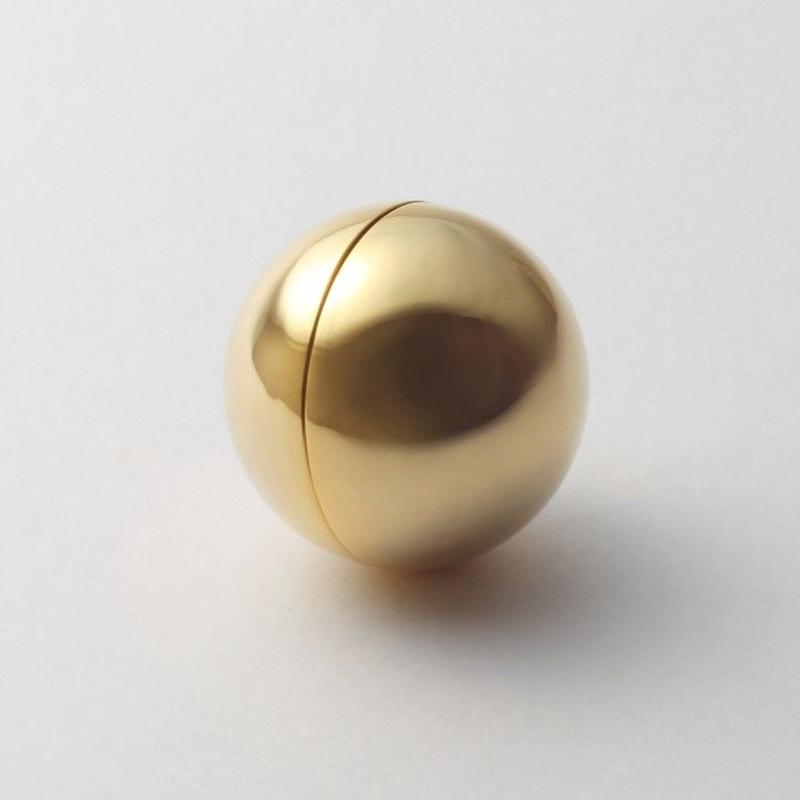 36mm sphere pierce (gold)