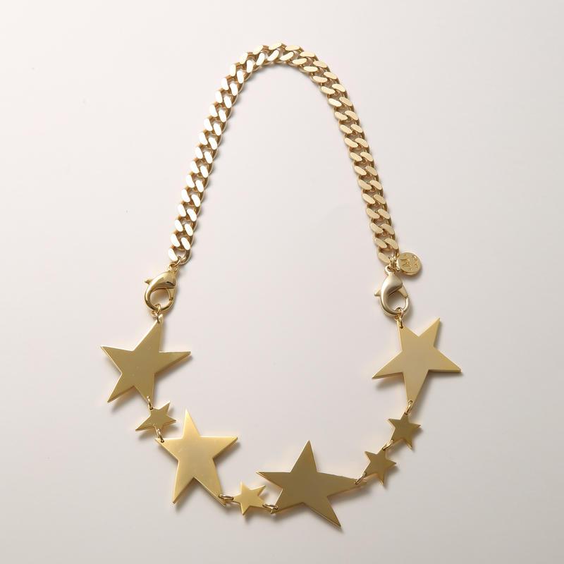 big star necklace (mat gold/shine gold)