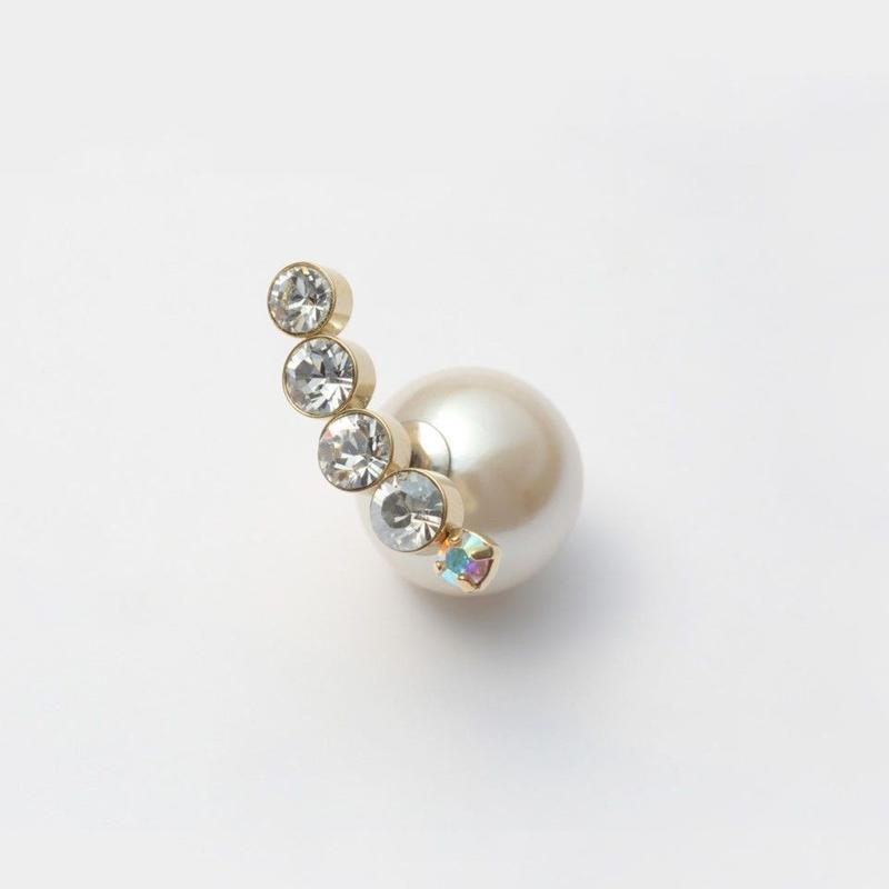 bijoux pierce (5 swarovski / crystal)