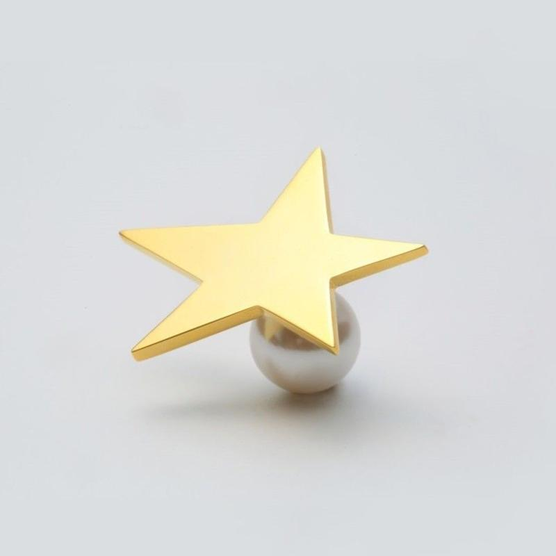 star pierce (large / gold)