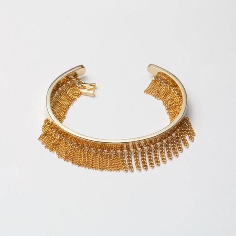 Fringe Bangle(10㎜/Gold)