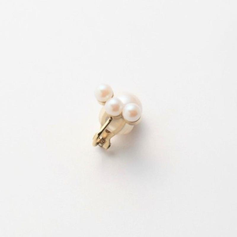 theree pearl earring(small)