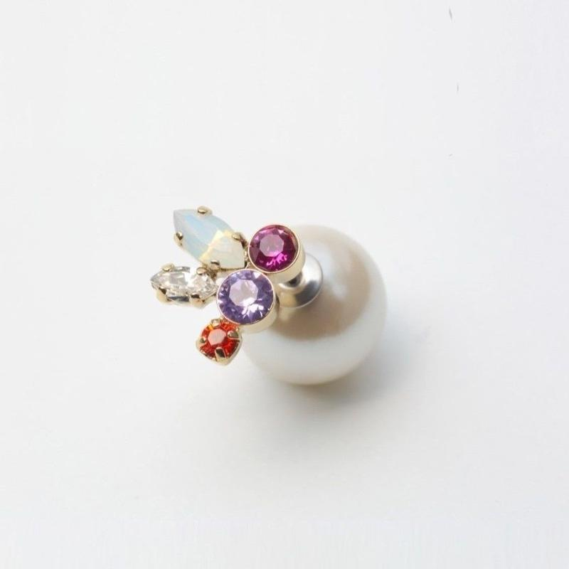 bijoux pierce (light pink)