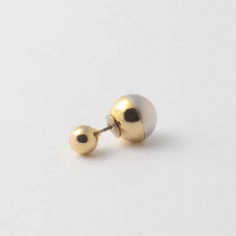 metallic pearl rivets ( gold / shine  gold / mat silver)