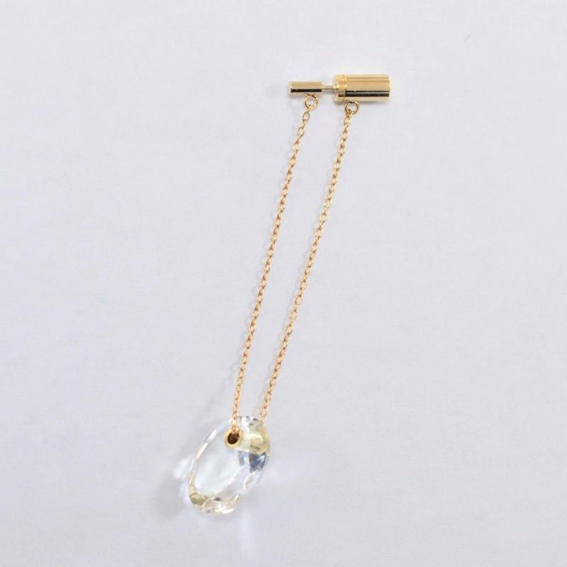 Sun Catcher pierce ( oval / vertical / long)