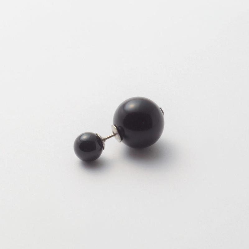 basic pearl rivets (8mm black pearl × 14mm black pearl)