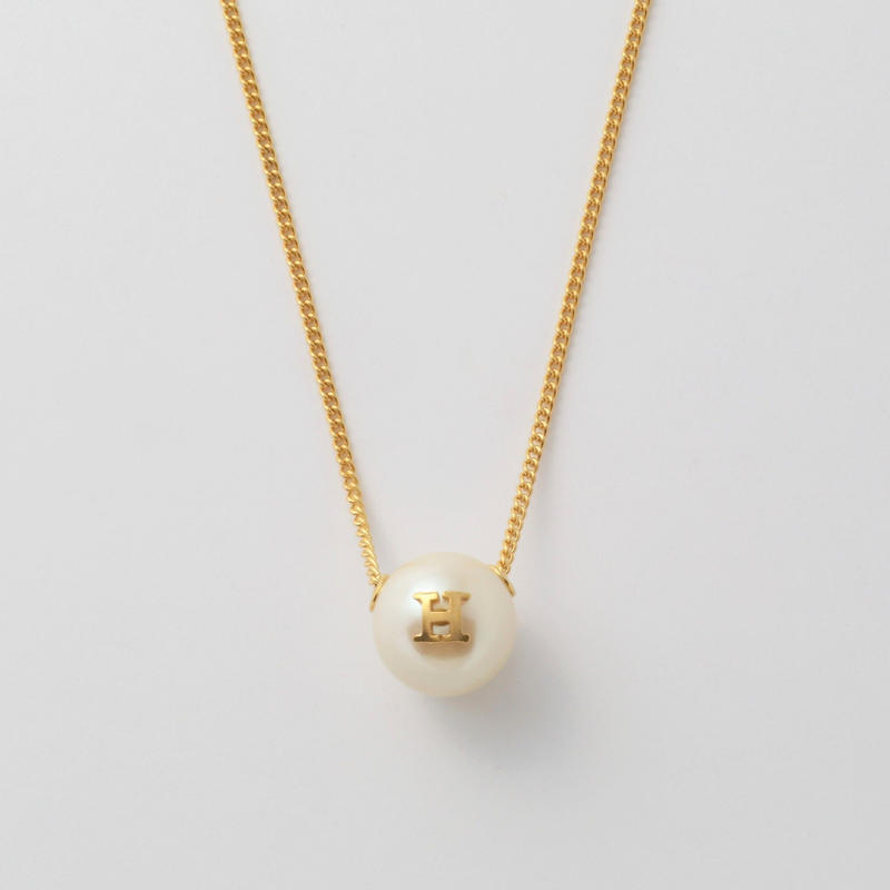 """Initial necklace """"H"""""""