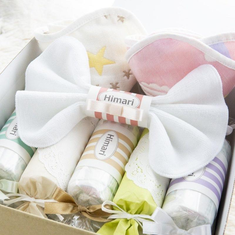 出産祝いに名前入りミックスおむつキャンディ|ギフトセット|名前入りおむつキャンディーとスタイのセット|=|=dprck-0011
