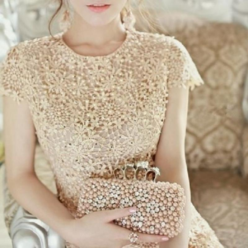 韓国ワンピース チュニック ビジュー ドレス 花柄 袖あり 結婚式 パーティー FS003501