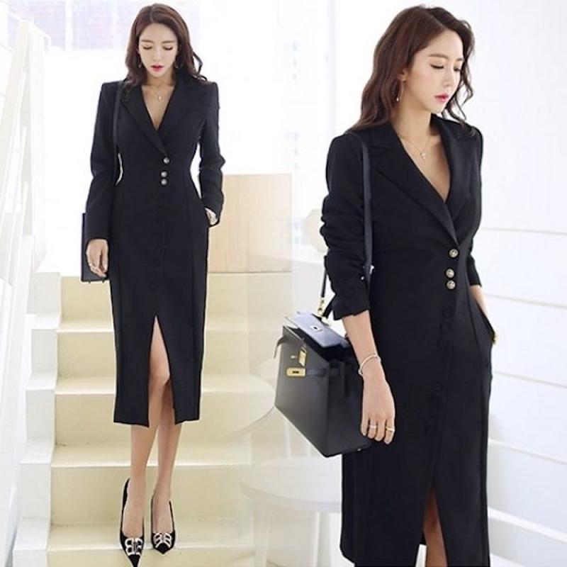 オールインワン パンツドレス OL ビジネス オフィススタイル きれいめ FS102401
