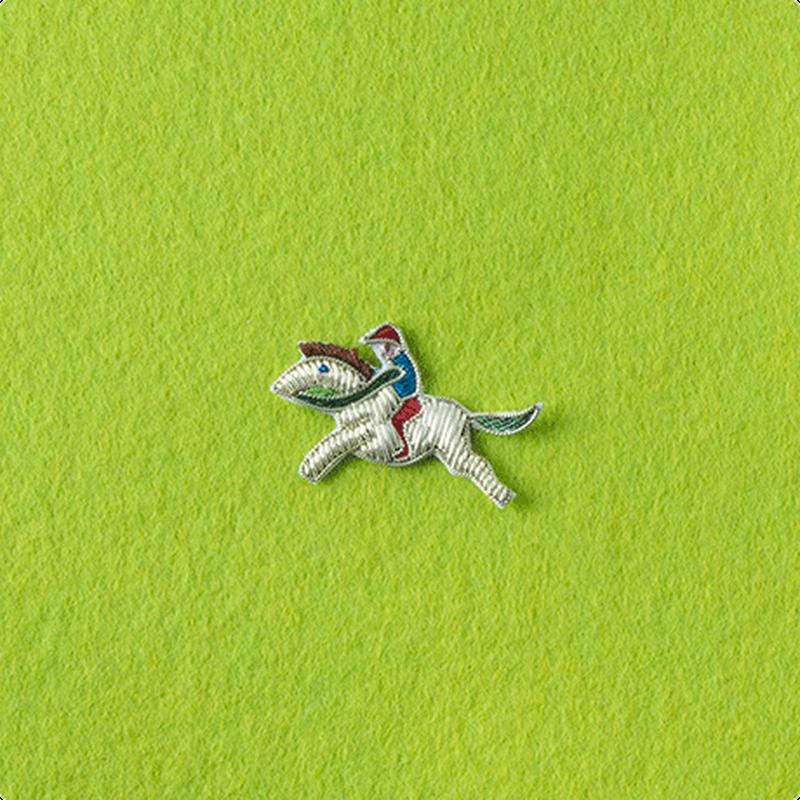 インポート刺繍ワッペン(ウマ)