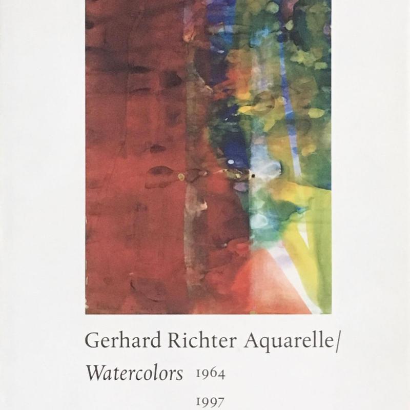 Gerhard Richter Aquarelle / Watercolors 1964-1997