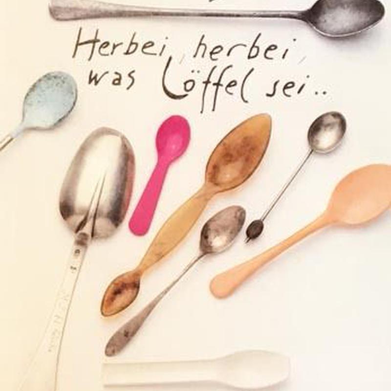Herbei Herbei Loffel Sei....  / Hermann Junger ミニポスター付