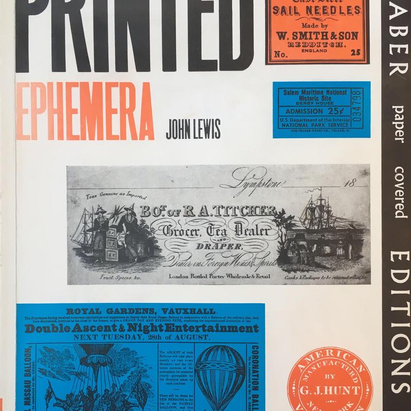 Printed Ephemera / John Lewis