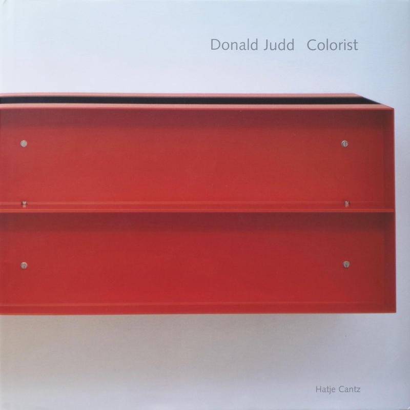 Colorist / Donald Judd
