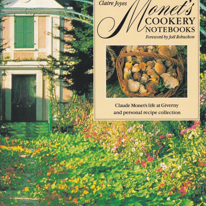 Monet's COOKERY NOTEBOOKS