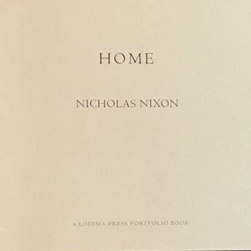 HOME  / NICHOLAS NIXON