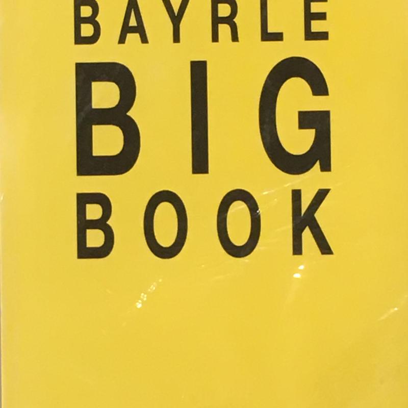 BAYRLE BIG BOOK / Thomas Bayrle  ※難あり