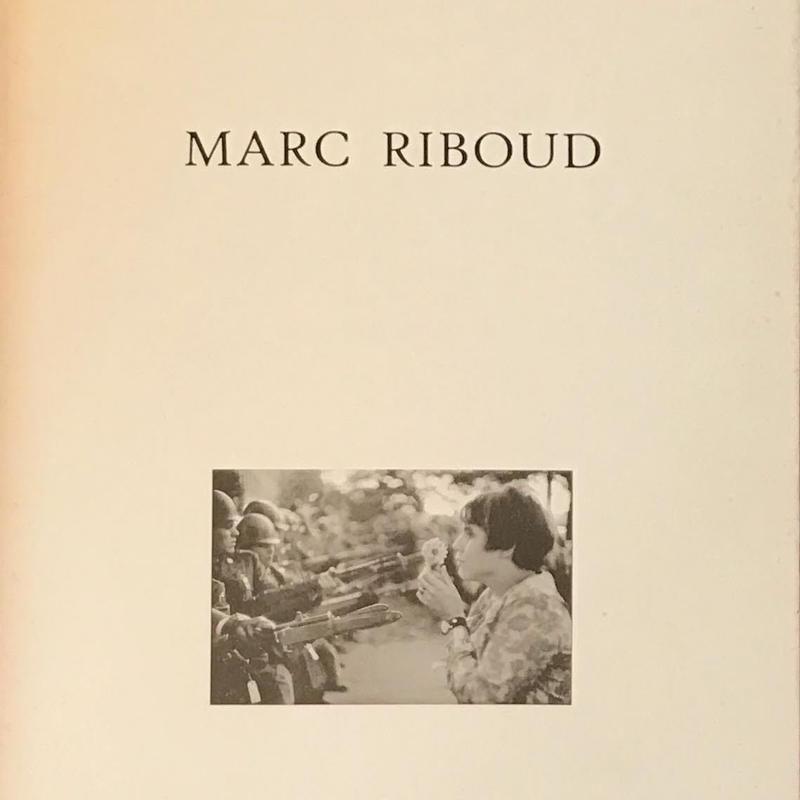 MARIC RIBOUD 展 図録