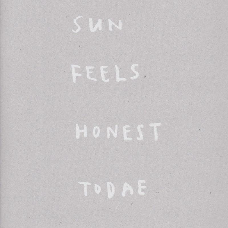 SUN FEELS HONEST TODAE / TERENCE KOH