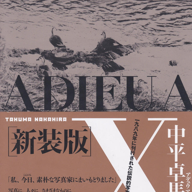 ADIEU A X アデュウ ア エックス 新装版 / 中平卓馬