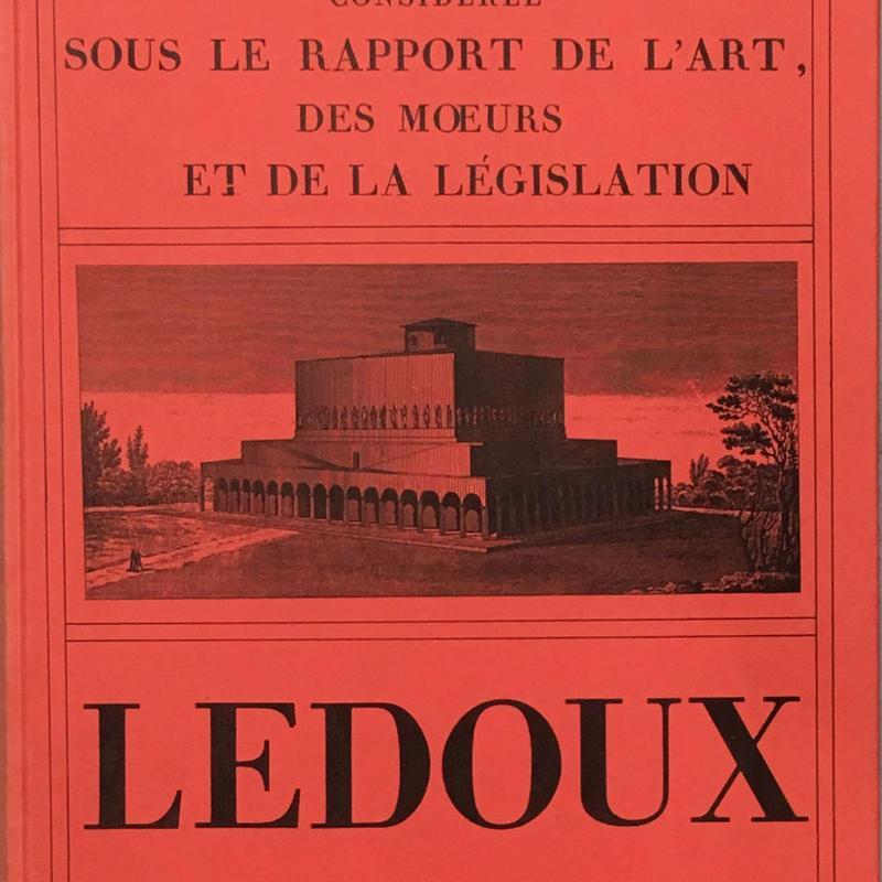 LEDOUX L'ARCHITECTURE 1・2揃