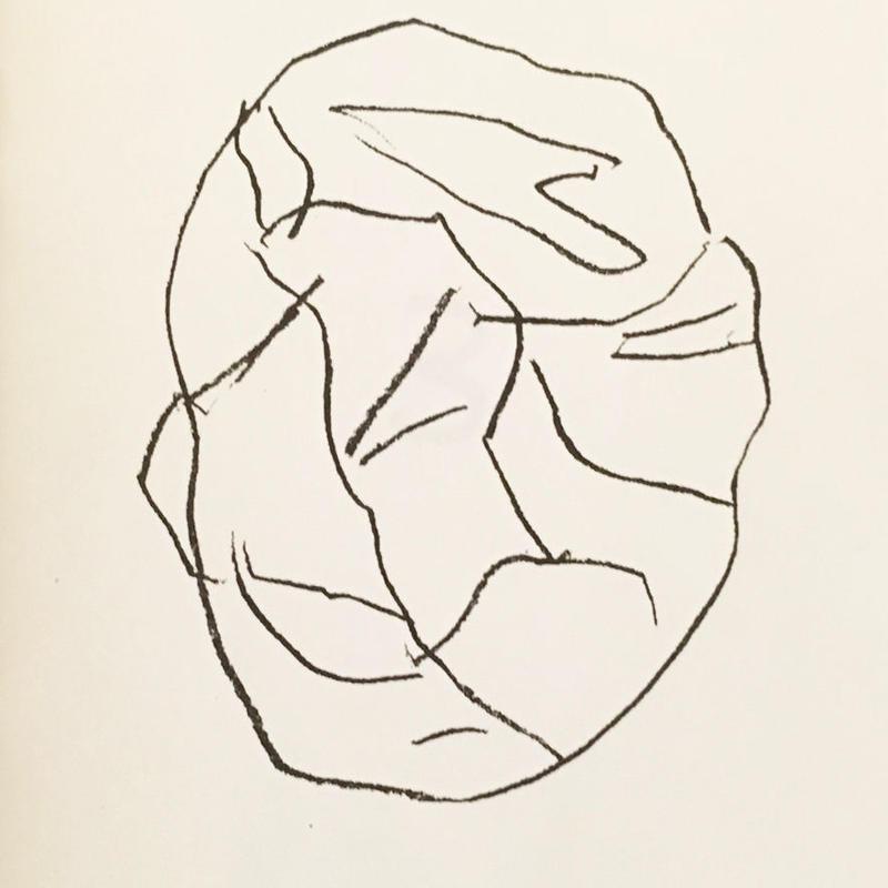DESSIN 第3号 PARIER ARRONDI from 'Béton et Abstrait'  / Sakurako Oidaira