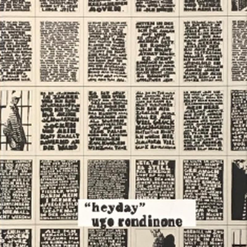 """""""heyday"""" / Ugo rondinone"""