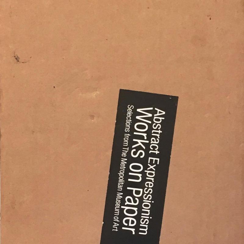 メトロポリタン美術館所蔵 抽象表現主義-紙の上の冒険 国内所蔵 アメリカ抽象表現主義の名作展 2冊組