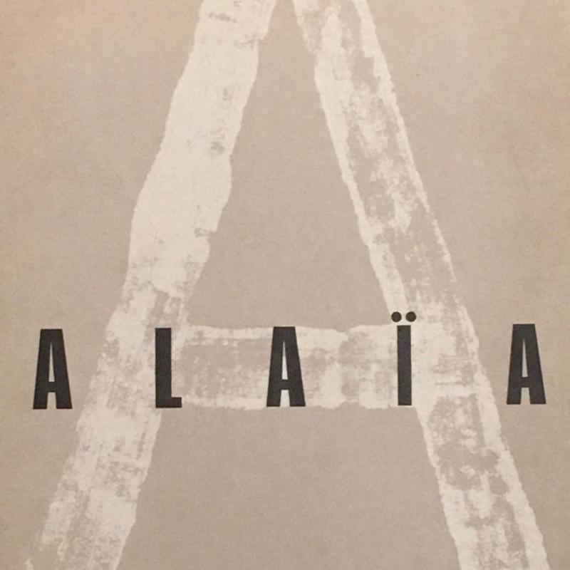 Alaia  / Azzedine Alaia Stidel 1998 Limited Edition