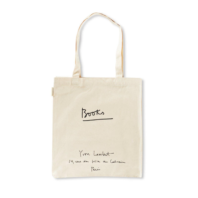 YVON LAMBERT TOTE BAG  : REGULAR / WHITE