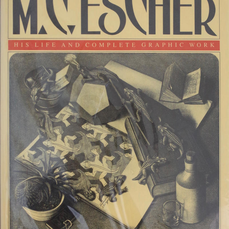 M.C ESCHER HIS LIFE AND COMPLETE GRAPHIC WORK