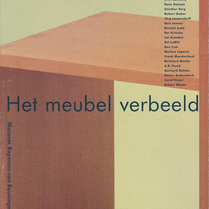 FURNITURE AS ART / Museum Boymans-van Beuningen