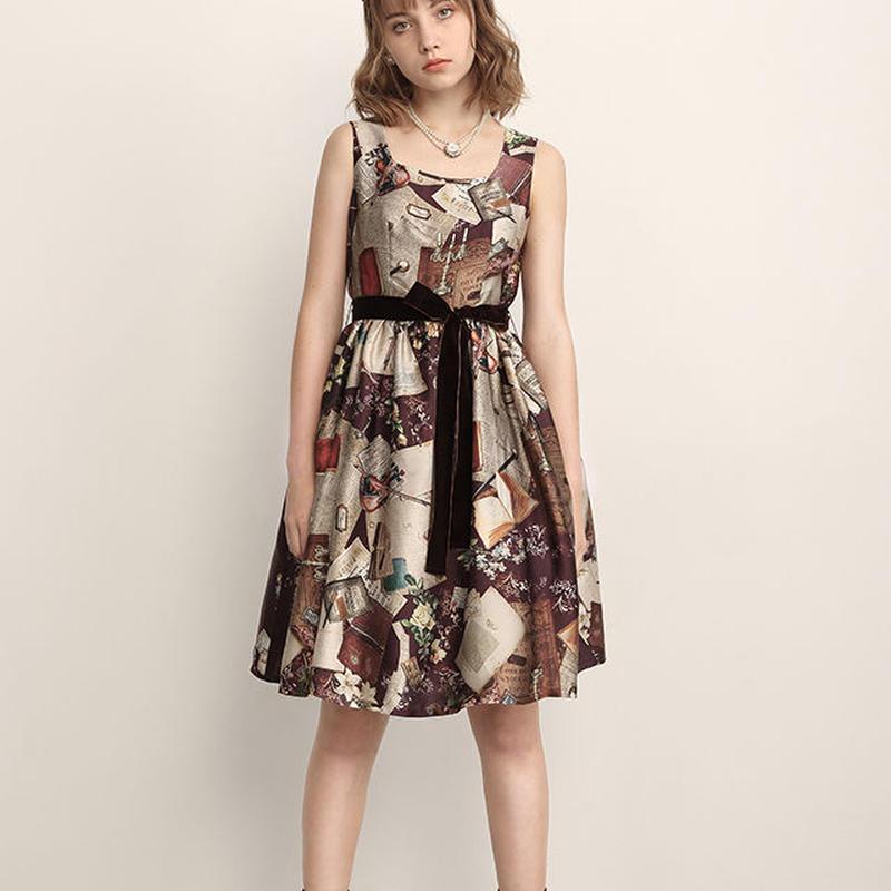 【トールサイズ】221B Baker Street ジャンパースカート