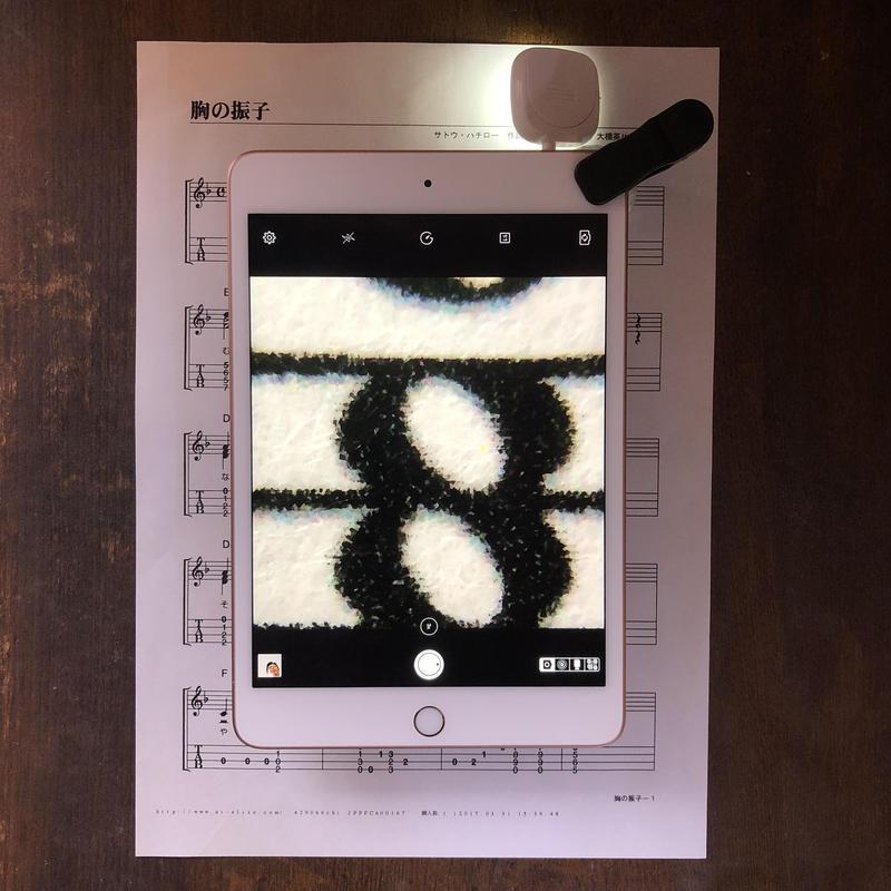LED照明付クリップ式反射型モバイル顕微鏡MM14.6CL(x10-40)