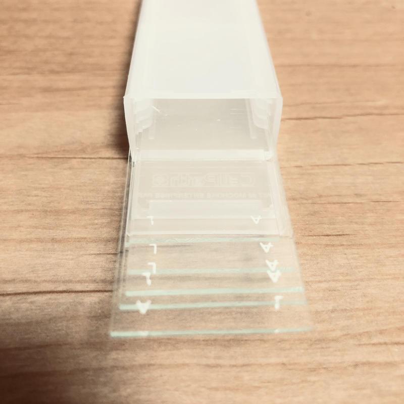 スライドガラス