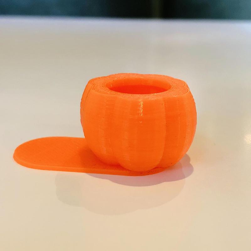 かぼちゃ型モバイル顕微鏡(30倍)