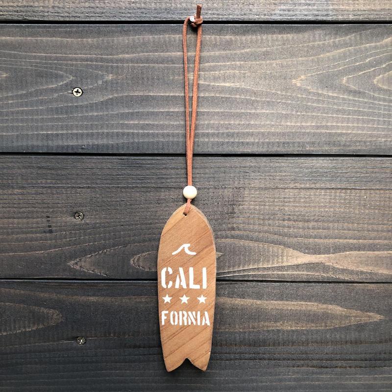 wood charm サーフボード