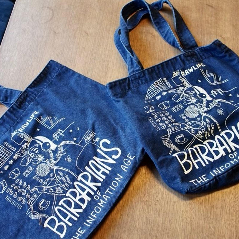 BARBARIANS  tote bag /  Small size