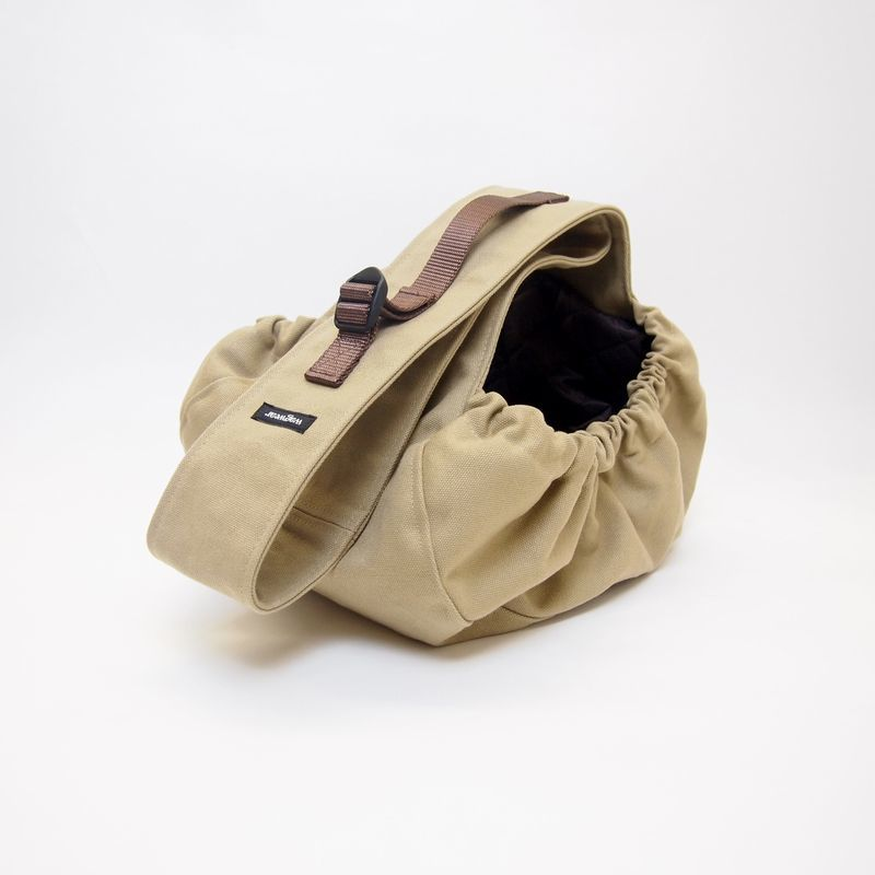 WagWear  Messenger  Pouch Carrier  Tabaco Size S