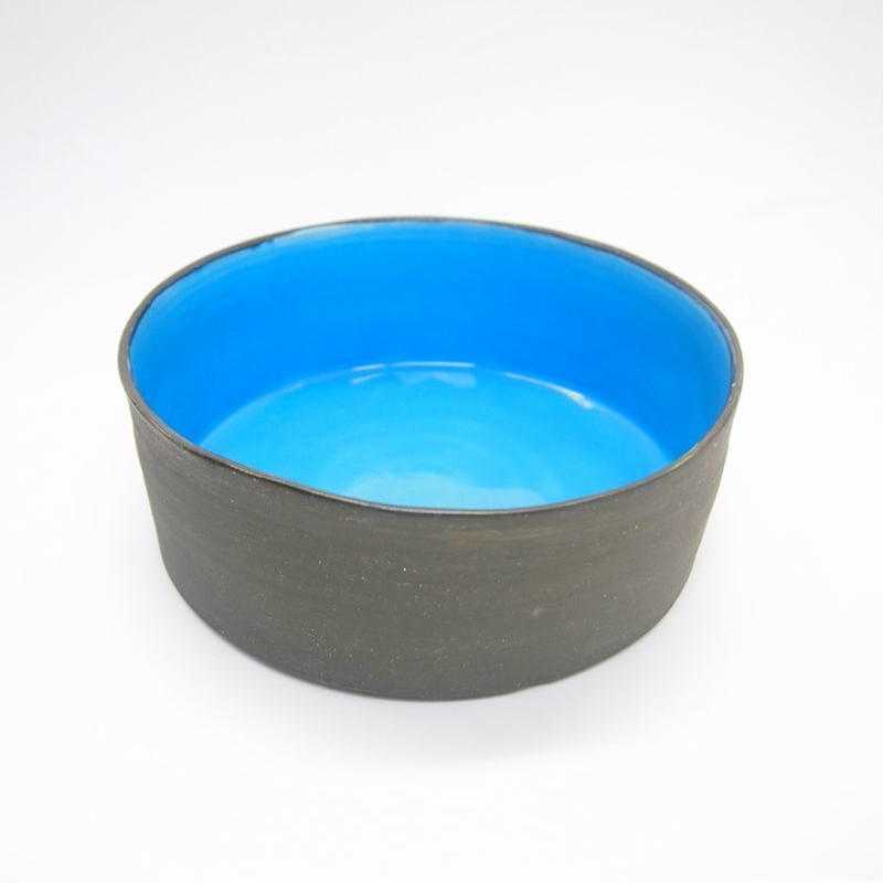 Ware of the Dog  Dog Bowl Aqua Size L