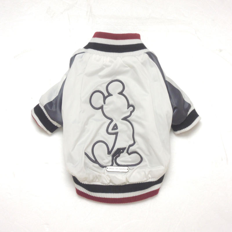 MAX BONE Mickey Mouse Bomber Jacket