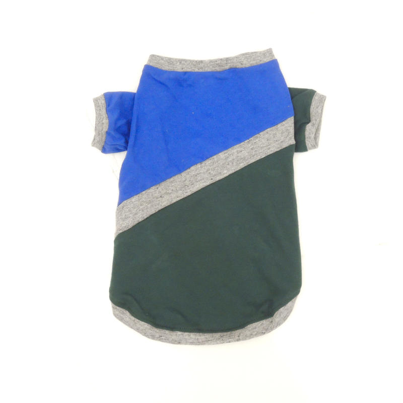 Ware Of The Dog BLUE/GREEN DIAGONAL STRIPE T-SHIRT