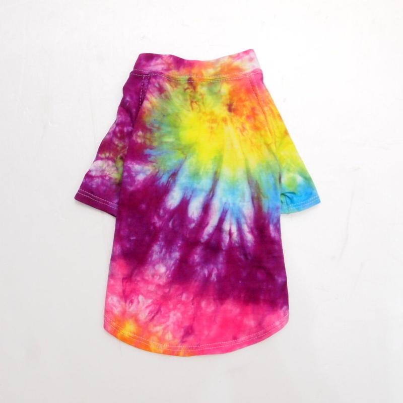 "wagwear Catskills Indigo Tie-Dyed T-Shirt  10"" 01"