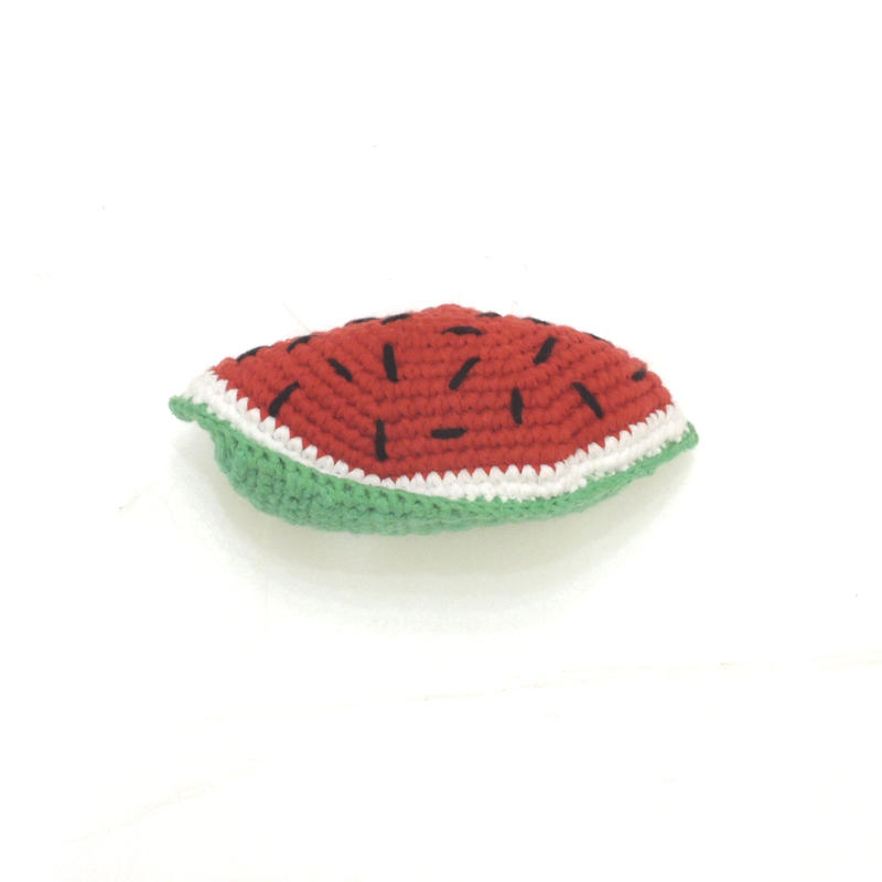 Ware Of The Dog  HAND CROCHET WATERMELON