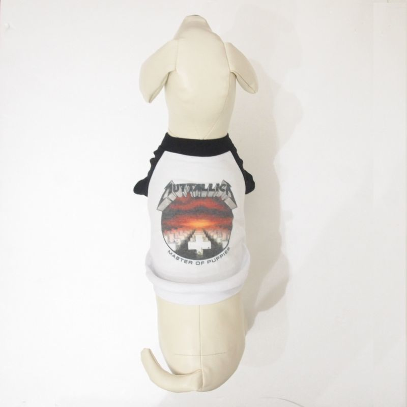 PETHAUS RAGLAN DOG TEE MASTER OF PUPPIES